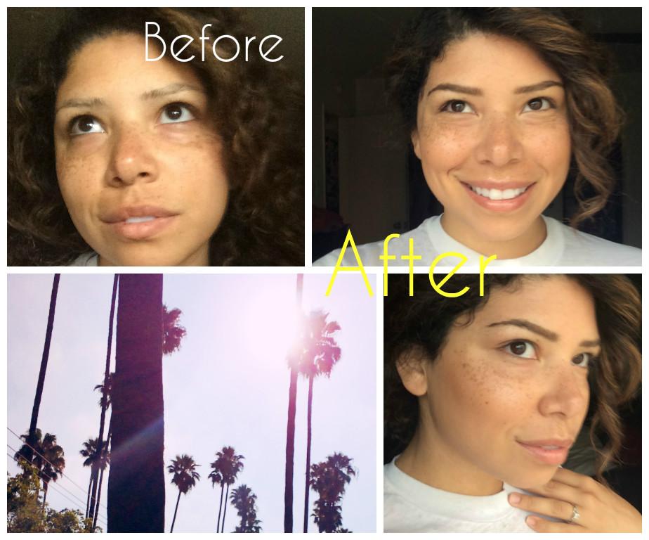 summer glow, makeup, alima pure, RMS luminizer, Ecobrow