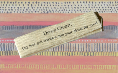 Quit Fast Fashion, Part II: Dress Clean!