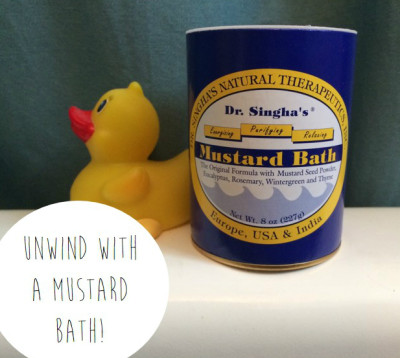 Get the Best Beauty Sleep Ever: Take A Mustard Bath