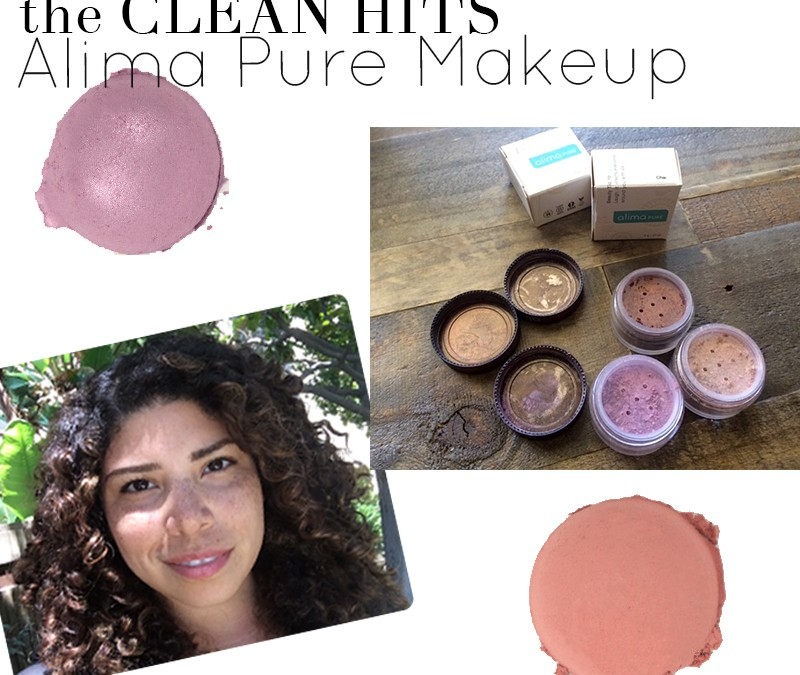 The Clean Hits: Alima Pure Makeup