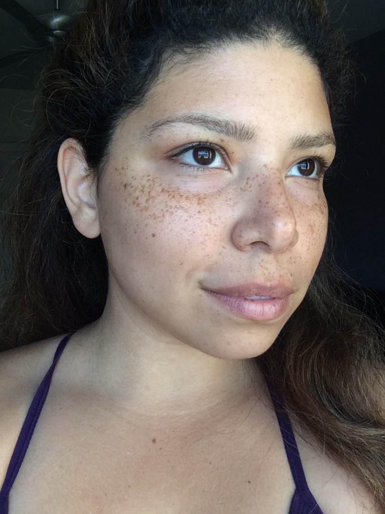 May Day Glow no makeup selfie DIY oil cleanser