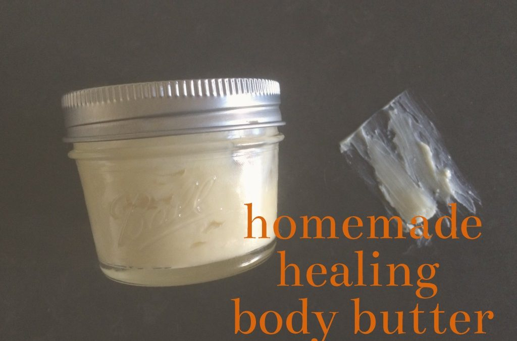 Homemade Healing Body Butter